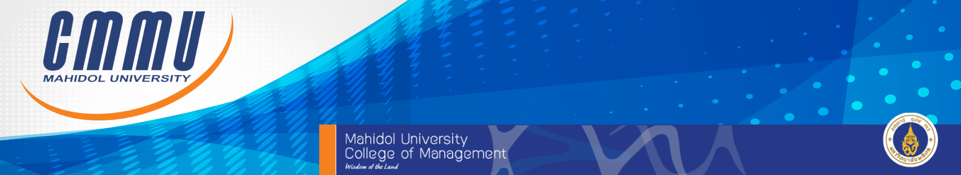 วิทยาลัยการจัดการ มหาวิทยาลัยมหิดล (CMMU) cover photo