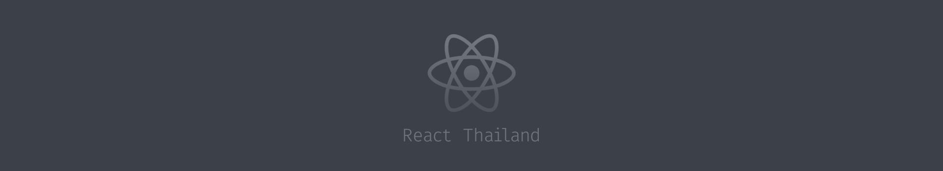 React Thailand cover photo